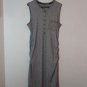 Athleta Gray Long Dress.